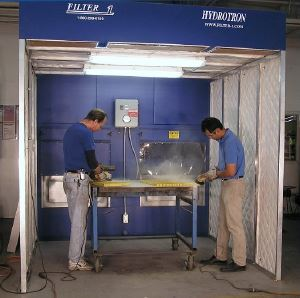 Dust Control Booths