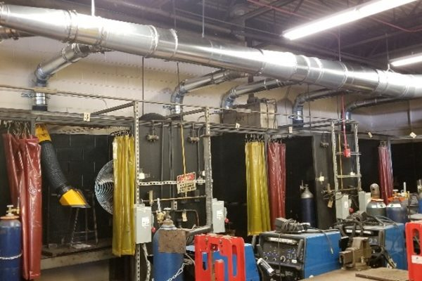 Vocational Schools embark on more hands-on lab time, requiring more ventilation support.