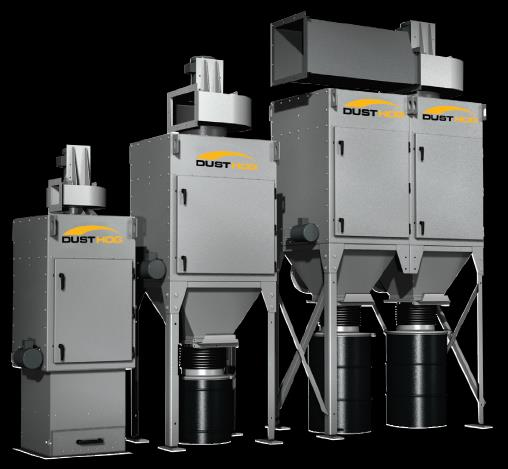 Parker DUST HOG SDC Series Self Contained Shaker Dust Collection