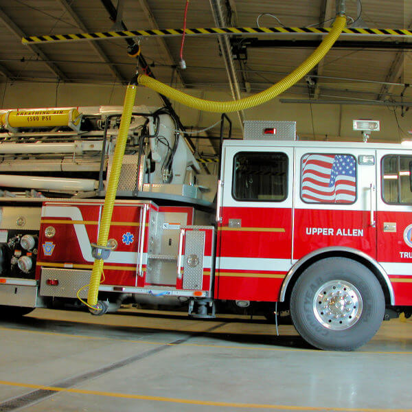 Firehouse Exhaust Ventilation System