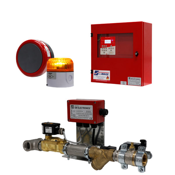 Spark Detection and Extinguishing System