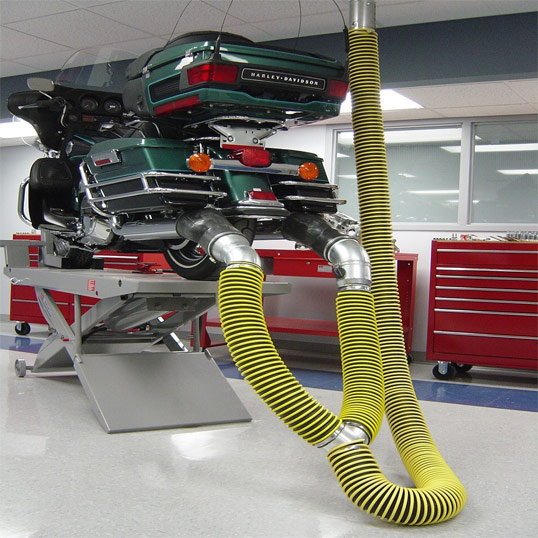 Hose Drops for Vehicle Exhaust System